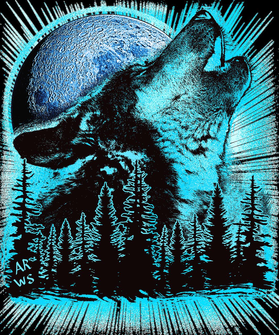 картинки волк под пальмой понятно