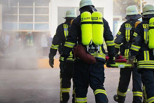 Lutte Contre L'Incendie, Barre, Pompiers