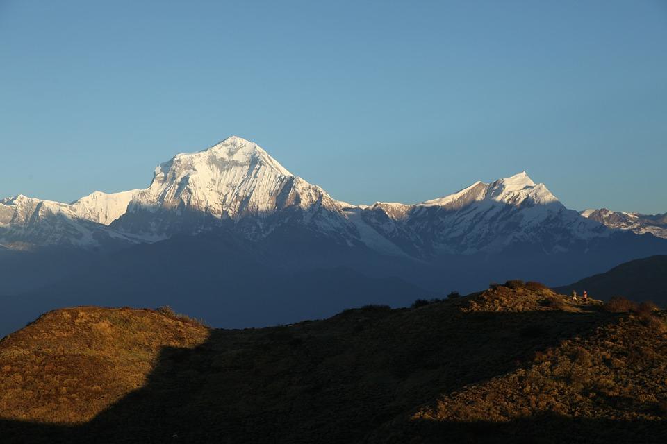 Mountain, Dhaulagiri, Nepal, Himalaya, Trekking, Hiking
