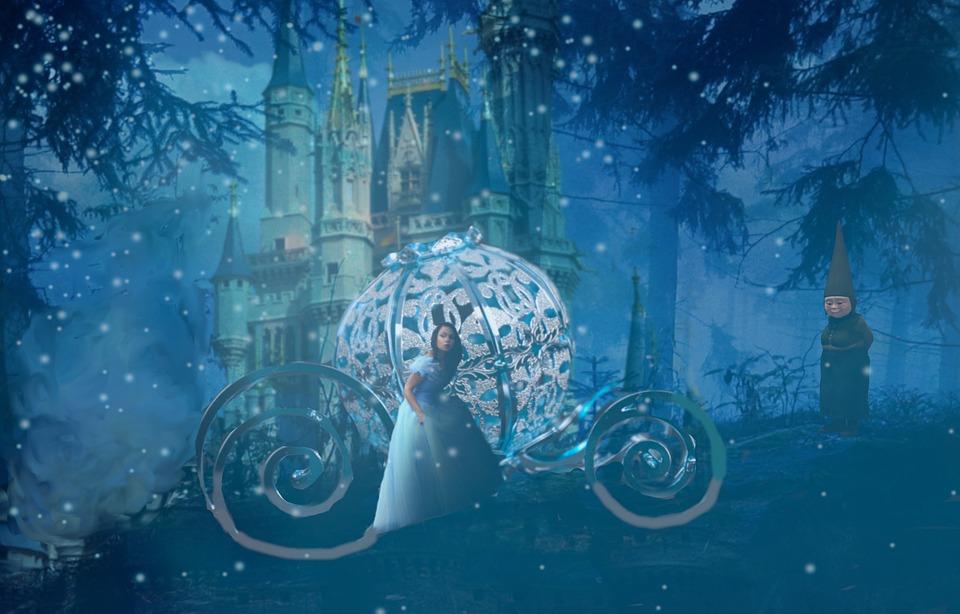 Золушка, Сказки, Fairytale, Фея, Девушка, Плата
