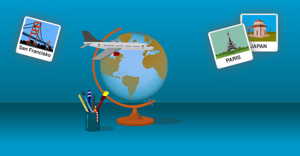 Du kan jobbe hjemmefra mens du bor i utlandet også.