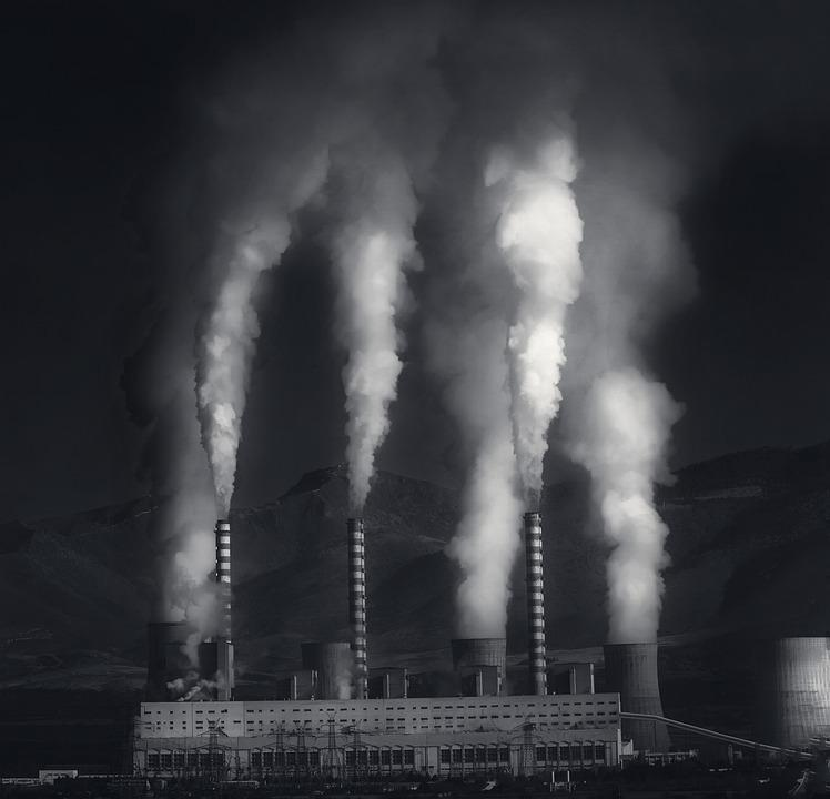 Smoke, Factory, Pollution, Industry, Environment