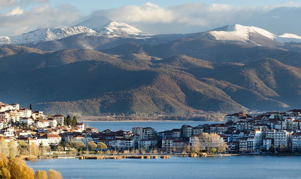 Καστοριά Λίμνη Βουνά - Δωρεάν φωτογραφία στο Pixabay