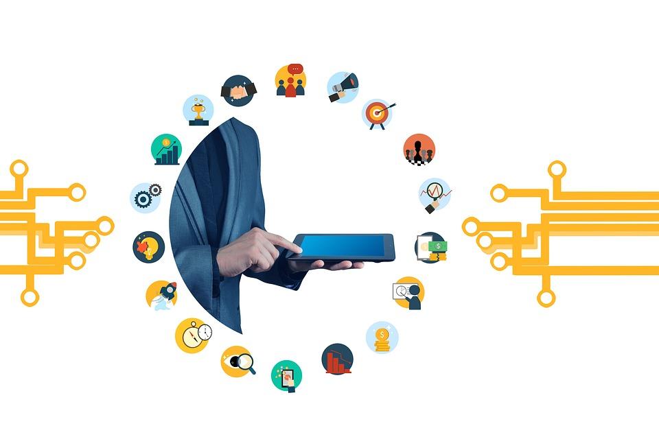 数字化, 网络, 业务, 经济增长, 建设, 结构, 互联网, 通讯, 技术, 数字, 市场营销, 笔记本电脑
