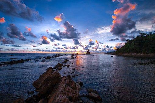 60 000 Gambar Sunset Matahari Terbenam Gratis Pixabay