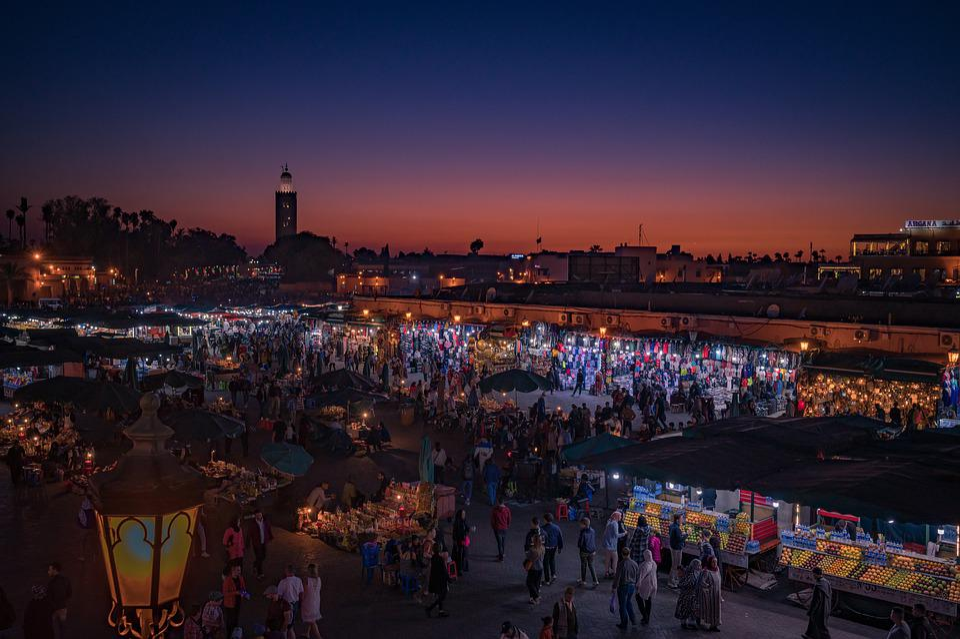 Marrakech, Mercato, Marocco, Bazar, Cultura, Medina