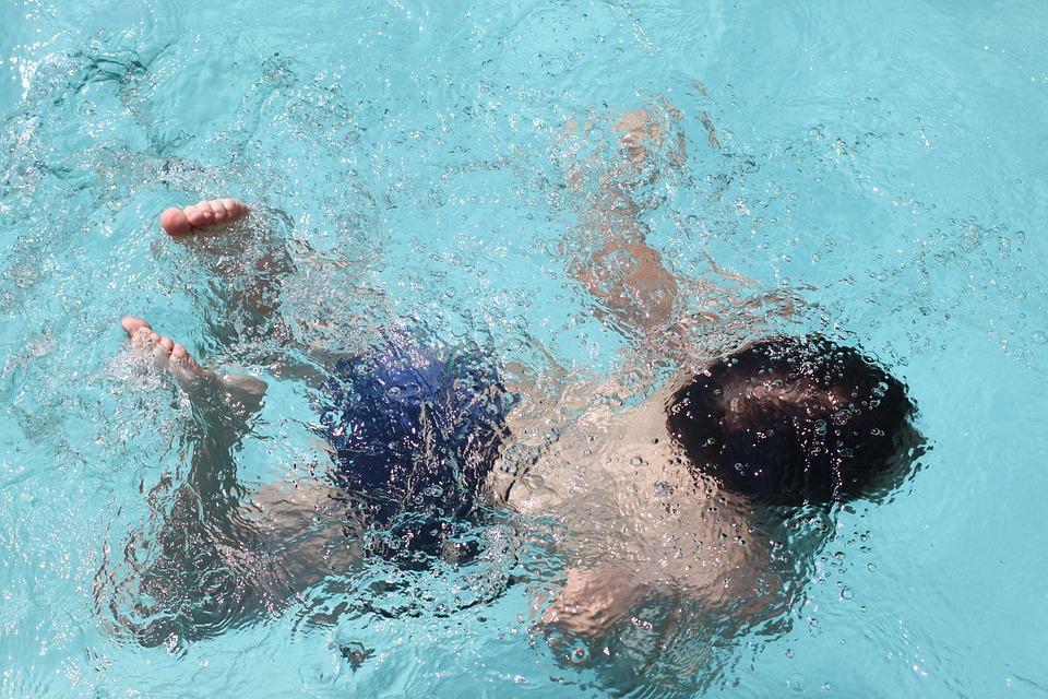 Wasser, Schwimmen, Tauchen, Kind, Schwimmbad