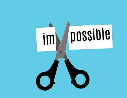 Impossible, Possible, Attitude, Positive