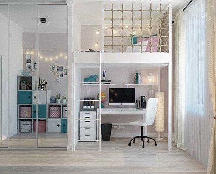 Kleine kamer inrichten