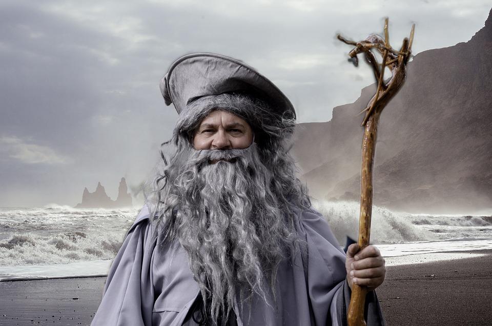 Gandalf, Władca Pierścieni, Cosplay, Festiwal, Francja
