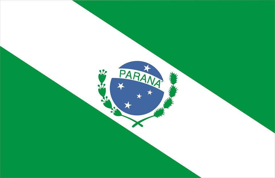 Bandeira, Estado, Parana, Brasil