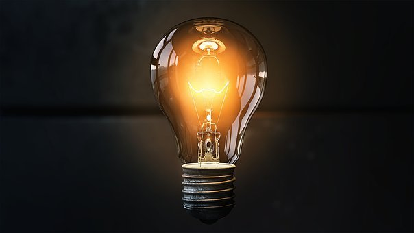 Light Bulb, Idea, Lit, Inspiration