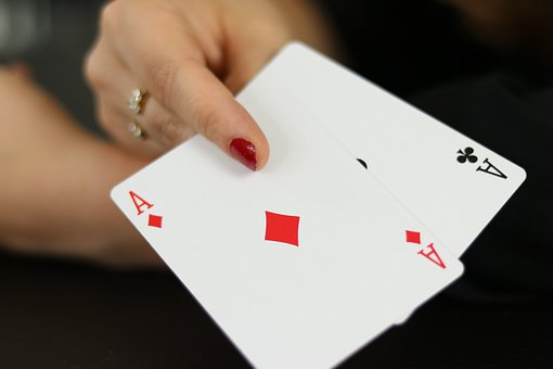Double Ace, Cards, Place, Card Game