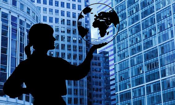 女性実業家, ビジネス, グローバル, 企業, 起業家, 成功しました