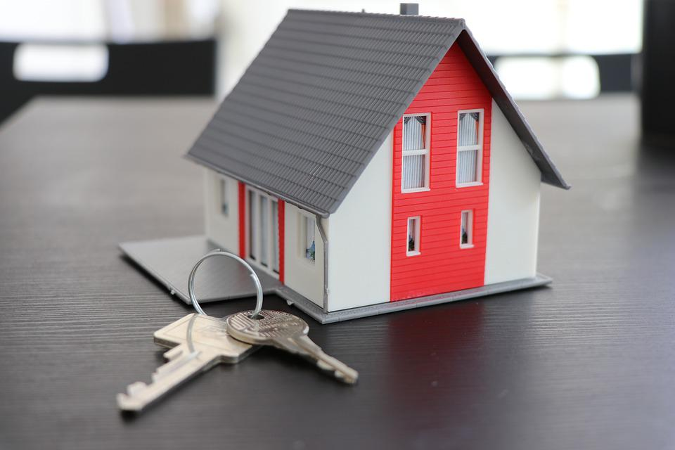 Къща, Ключ, Недвижими Имоти, Сигурност, Апартамент