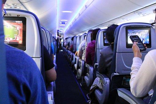 フライト, 平面, 飛行機, 航空, 交通