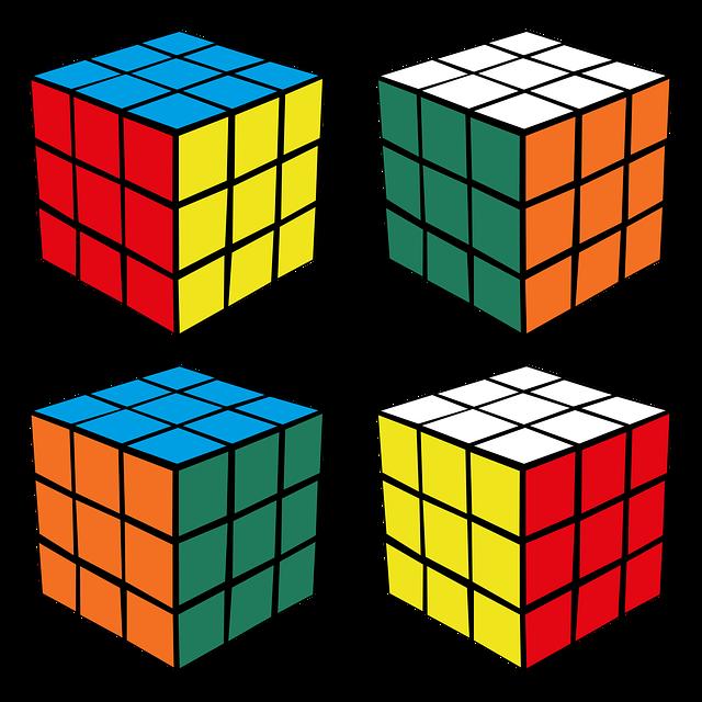 расположение цветов на кубике рубика картинки архивные