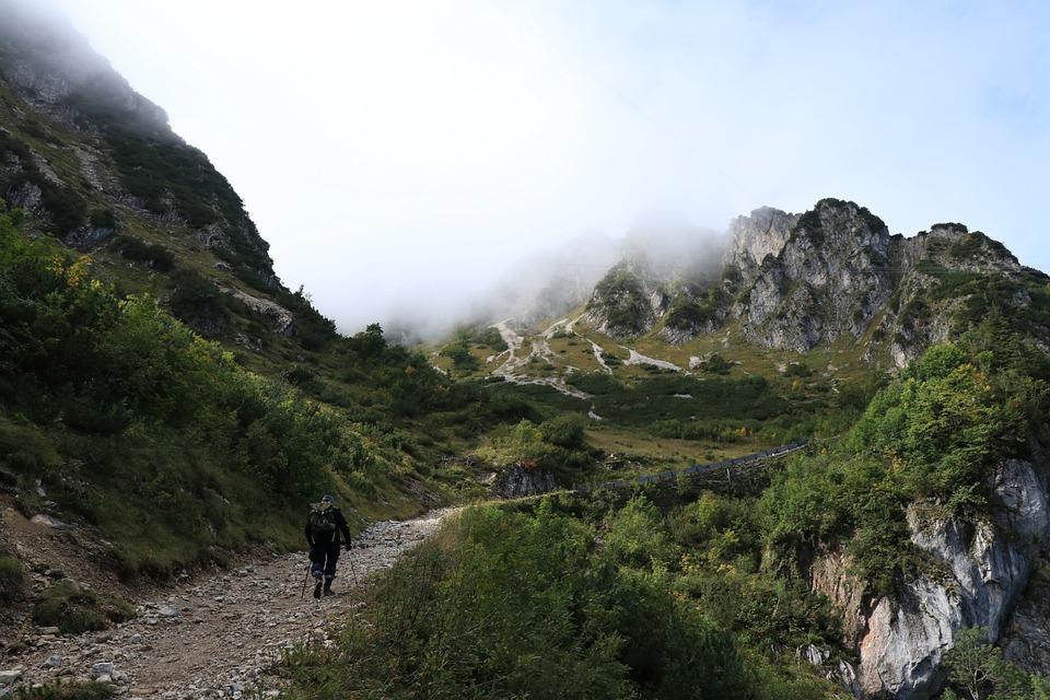 Bergen, Berg, Rotsen, Landschap, Natuur, Mist, Nevel
