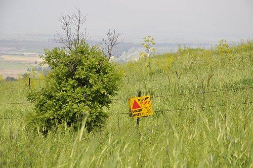 Israel, Golan, Land Mines, Danger