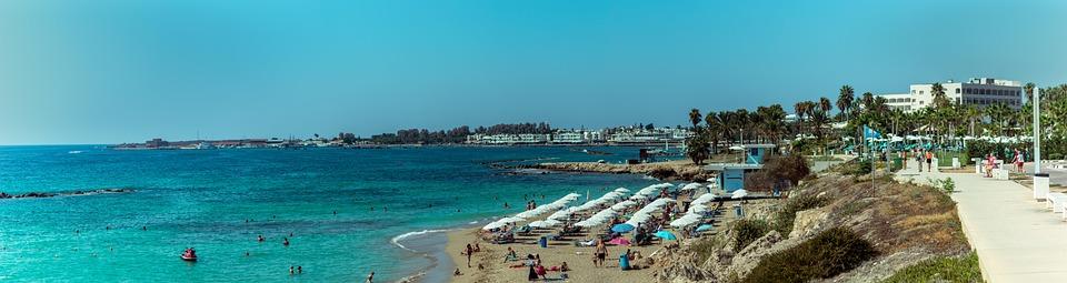 Kato Pafos, Cyprus, Beach, Sea, Sand, Coast, The Coast