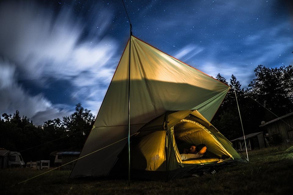 Campo, Camping, Campeggio, Natura, tenda, Libertà, boschi