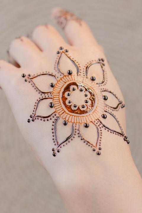 Henna Hands Mehendi Free Photo On Pixabay