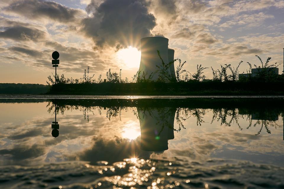 Jadrová Elektráreň, Chladiacu Vežu, Východ Slnka
