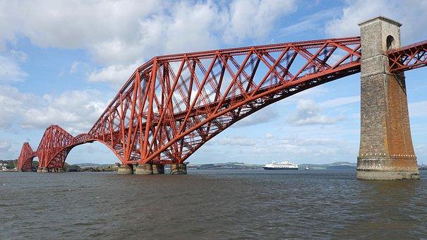 The Forth Bridge, Railway Bridge, Steel