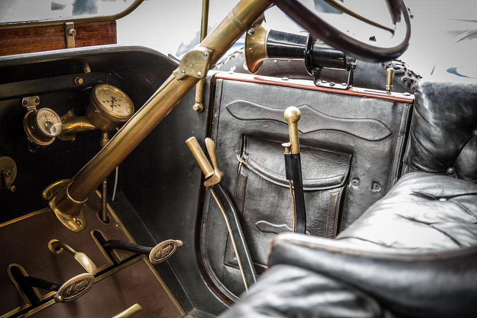 Oldtimer, Interior, Auto, Classic, Automotive, Old