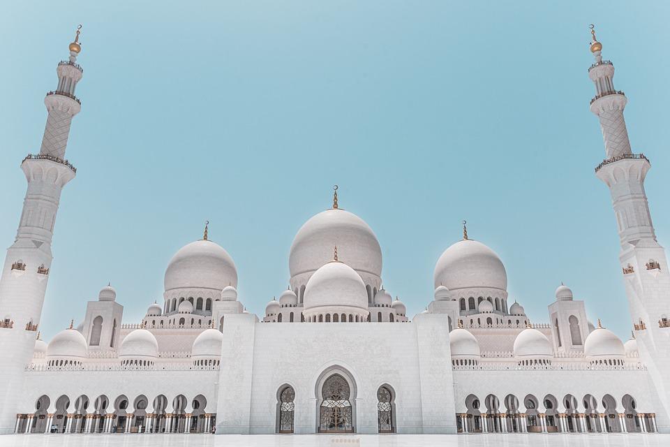 Abu Dhabi Sheikh Zayed Mosque - Free photo on Pixabay