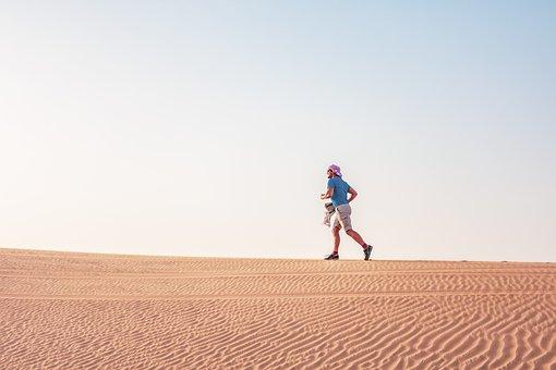 Desert Run, Sports, Uae, Gym, Guy, Sport