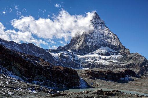 Matterhorn, Switzerland, Valais, Zermatt