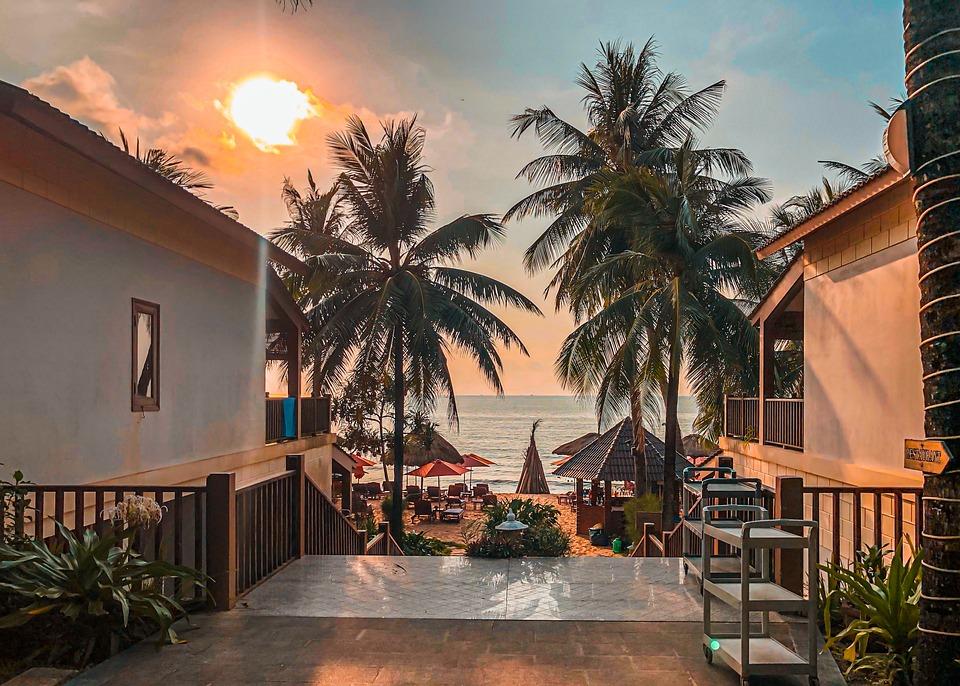 Vietnam, Island, Travel, Sky, Nature, Summer