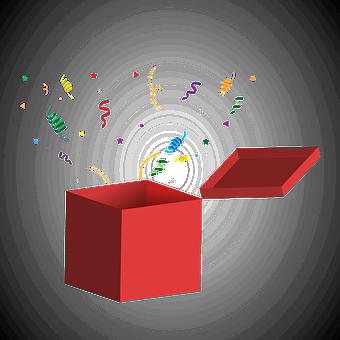 Geschenk, Box, Geschenk Box, Geburtstag