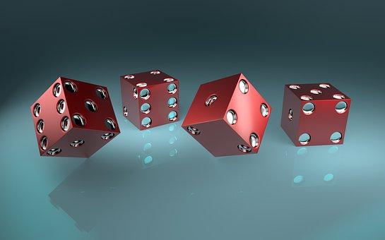 Cubo, Lucky Dados, Blue Casino