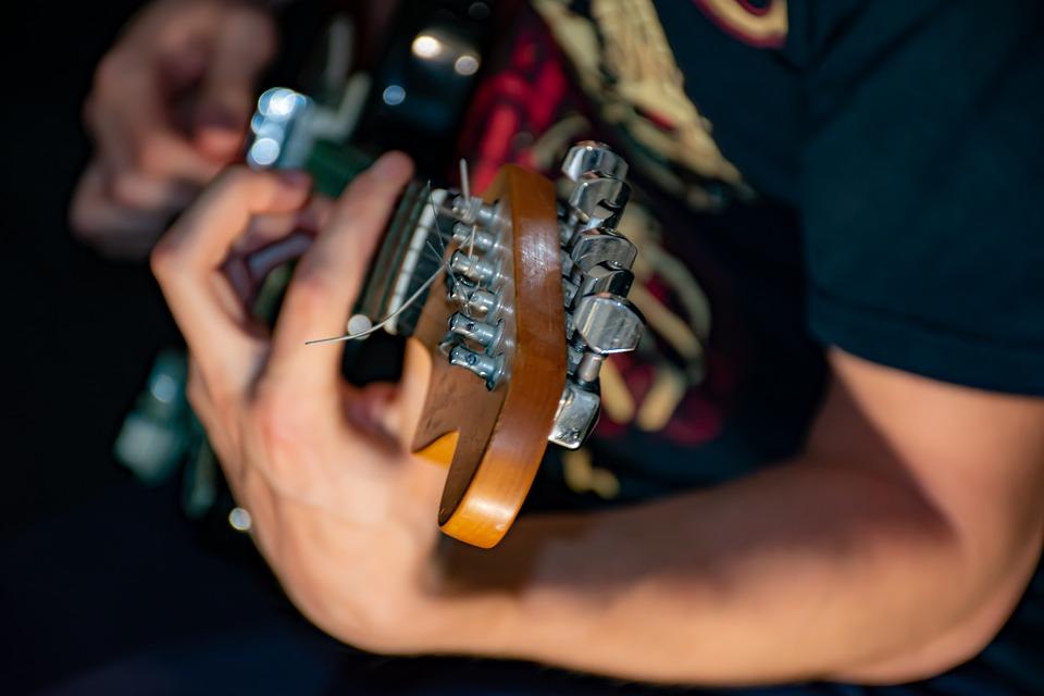 Guitarra, Guitarrista, Música, Eléctrica