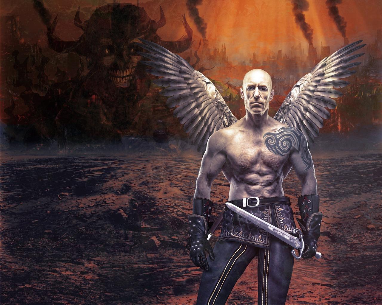 Ангелы апокалипсиса картинки