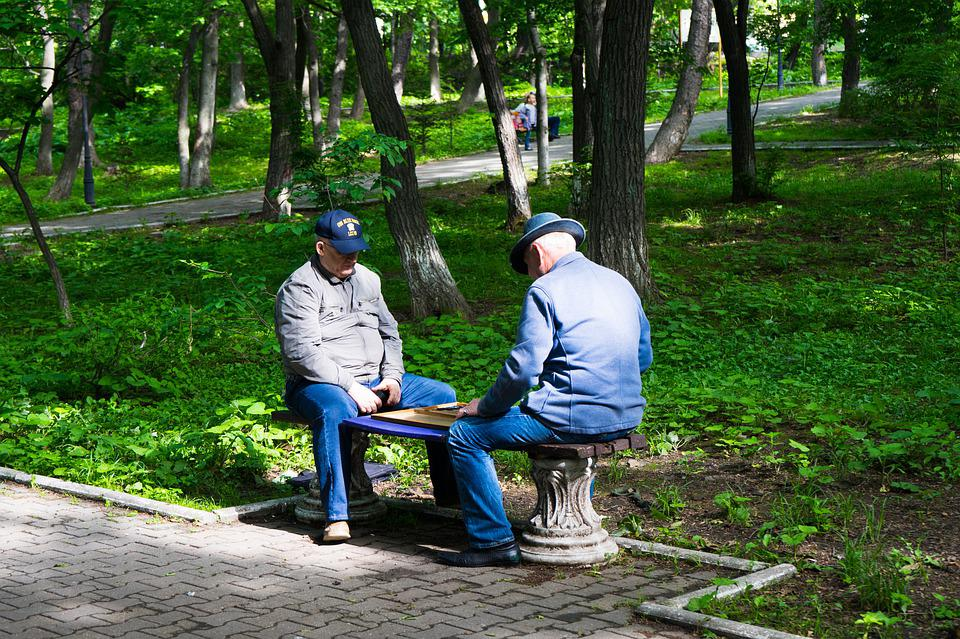 Chess, Board Game, Competition, Park, Strategy