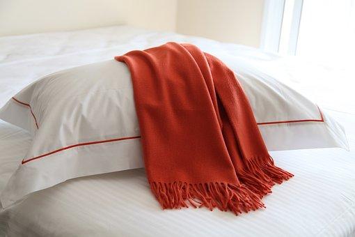 マフラー, カ, ベッド, シート, 品質, のベッドルーム, マフラー