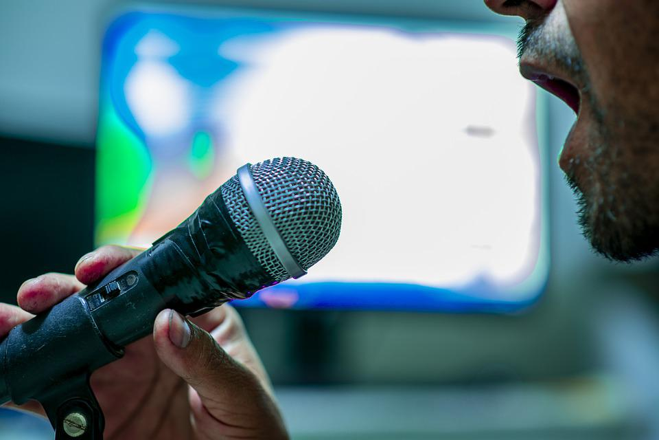 Microphone, Singing, Music, Sound, Concert, Karaoke