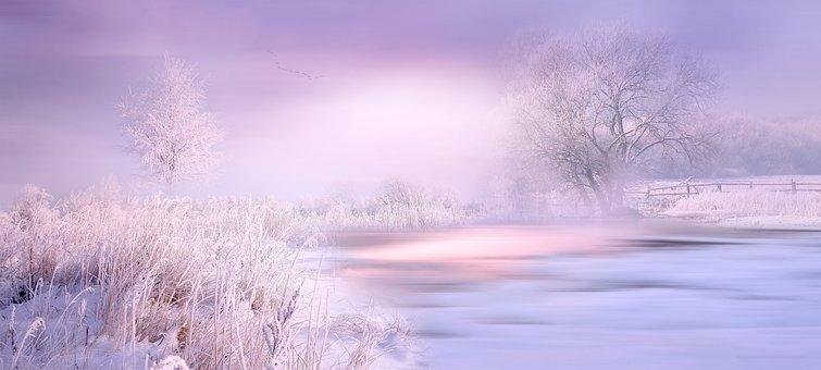 Natur, Landschaft, Winter, Wintermärchen