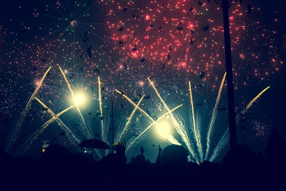 Havai Fişek, Gökyüzü, Patlama, Kutlama, Gece, Festival