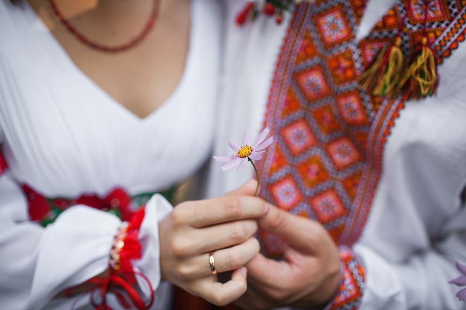 Украина, Свадьба, Платье, Брак, Невеста, Жених