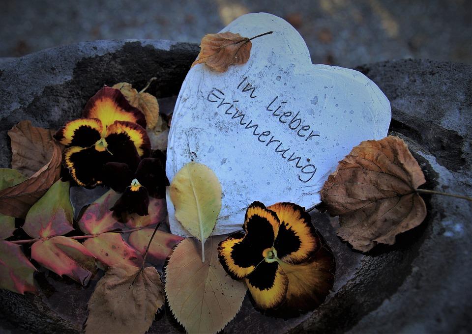 Stein Herzen, Speicher, Abschied, Feiern, Auf Immer