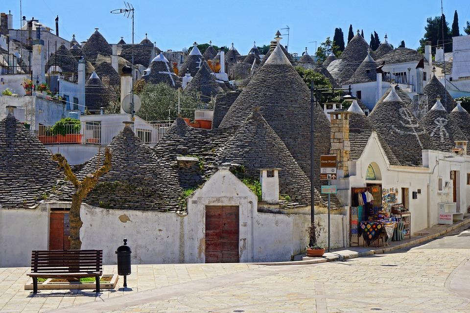 Trulli, Alberobello, Italy, Puglia, Architectural