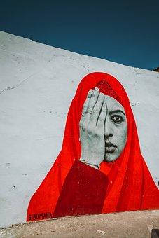 Siprus, Jilbab, Kedua Mata, Dengan Kedua