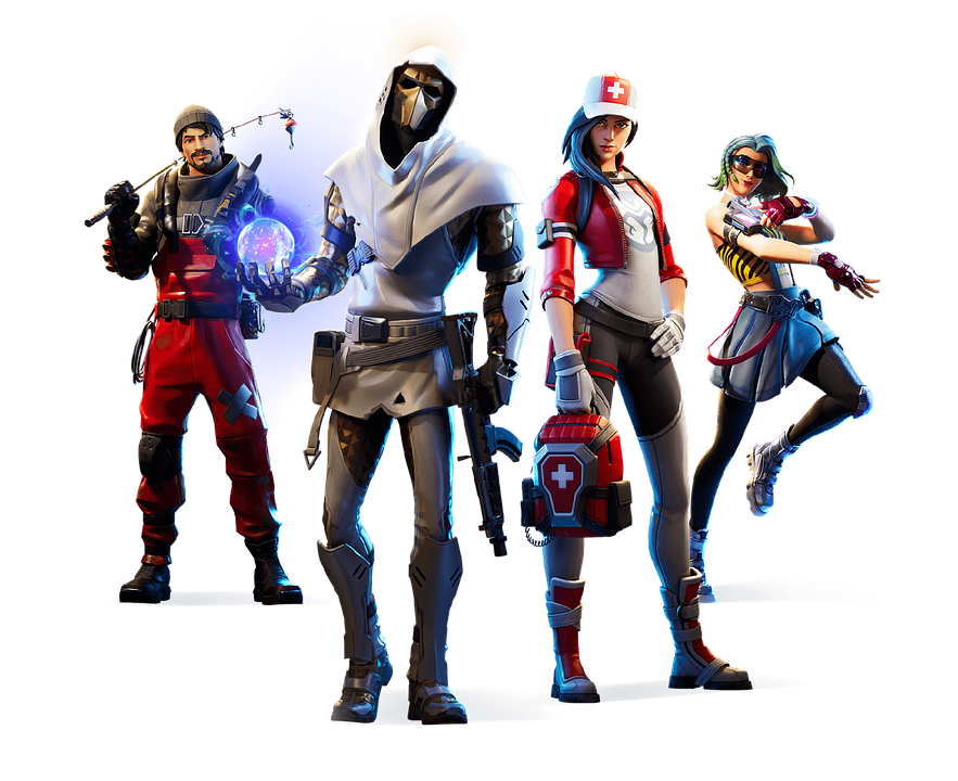 Fortnite, Game, Gamer, Games, Battle, Armor, Trigger