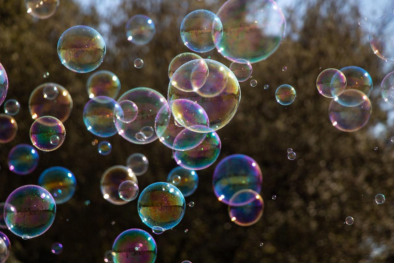 красивые картинки мыльных пузырей каких либо