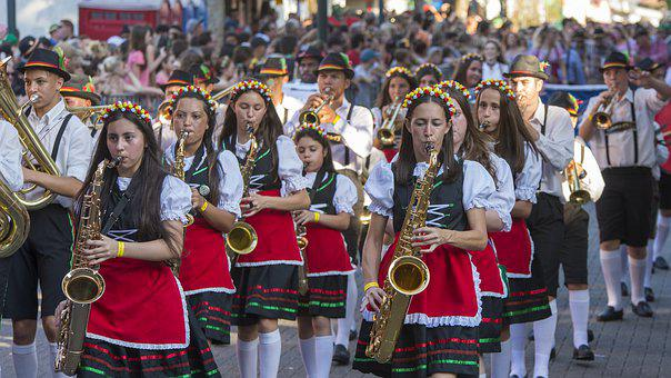 Oktoberfest, Band, Marching, March
