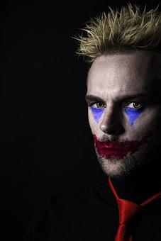 Joker, Clown, Halloween, Horror, Evil
